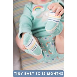452fcb1491dc FRUGI Kojenecké ponožky biobavlna Rainbow Stripe